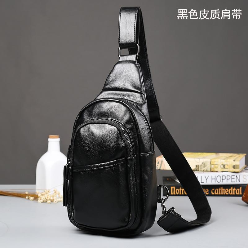 2018 model baru kecil tas dada tas selempang pria tas santai Gaya Korea pasang tas bahu tunggal Tas Pria Luar rumah ransel Tas Bersepeda