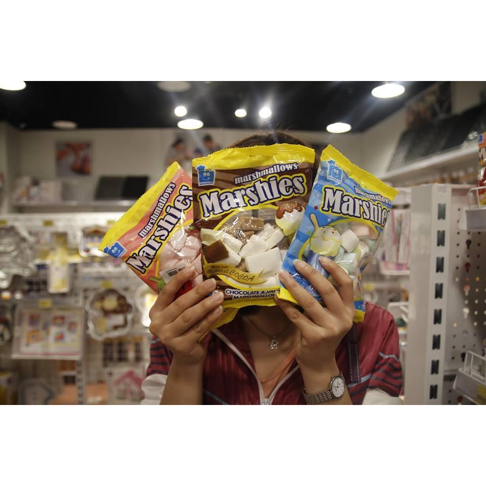 Hình ảnh Kẹo xốp bông Marshies Marshmallows socola & vani 80 gr