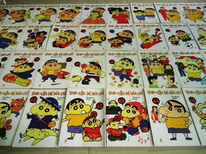Mua Combo 10 truyện tranh Shin cậu bé bút chì - được chọn tập