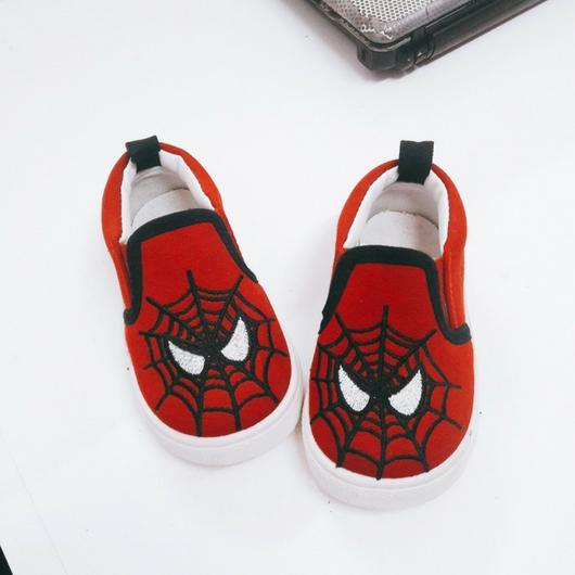 Hình ảnh Giày lười nhện đỏ cho bé trai