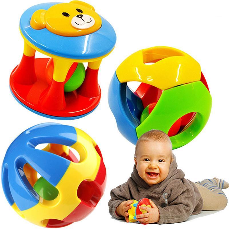 Hình ảnh Bộ đồ chơi Lục Lạc tập bò 03 món cho bé