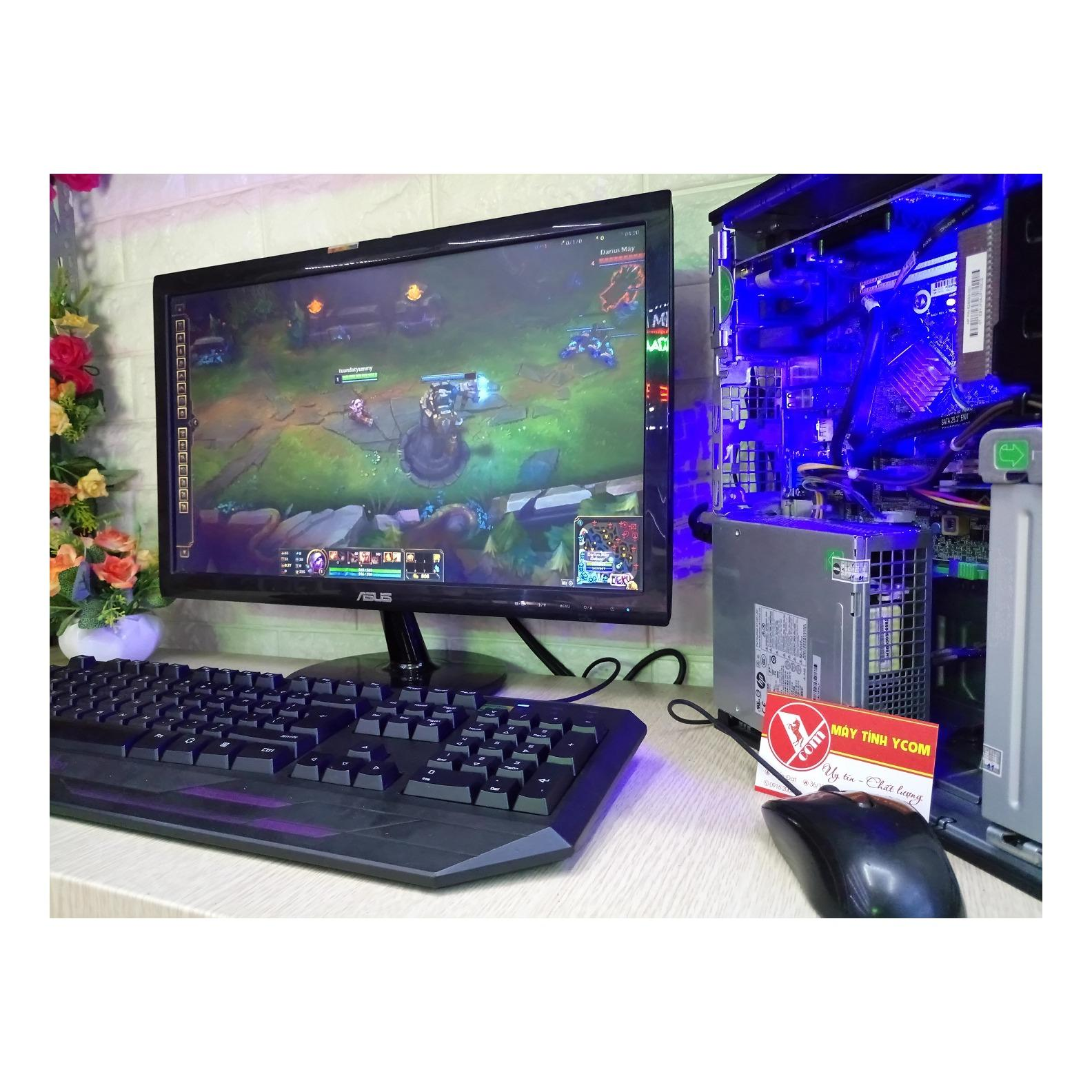 Hình ảnh Bộ máy tính chơi game LOL CF Rules of Survival [ Tặng màn 20inh ]