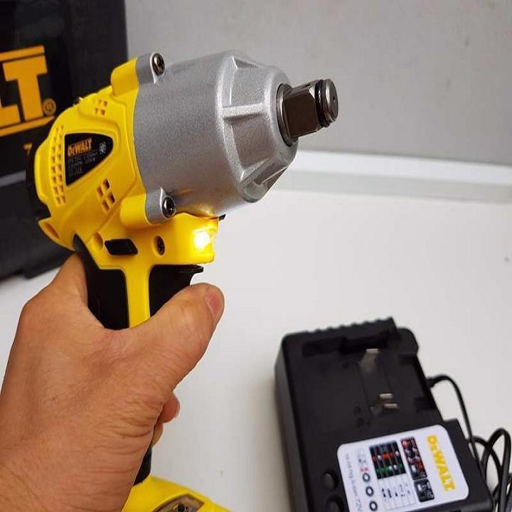 Máy Vặn Ốc Dùng Pin 72V Siêu Khỏe Dewalt 2 pin nhập khẩu