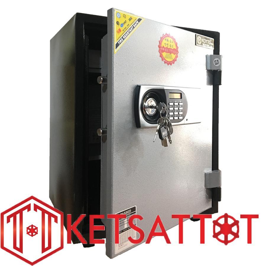 Hình ảnh Két sắt chống cháy cao cấp Koyto KY55D ( khóa điện tử báo động )