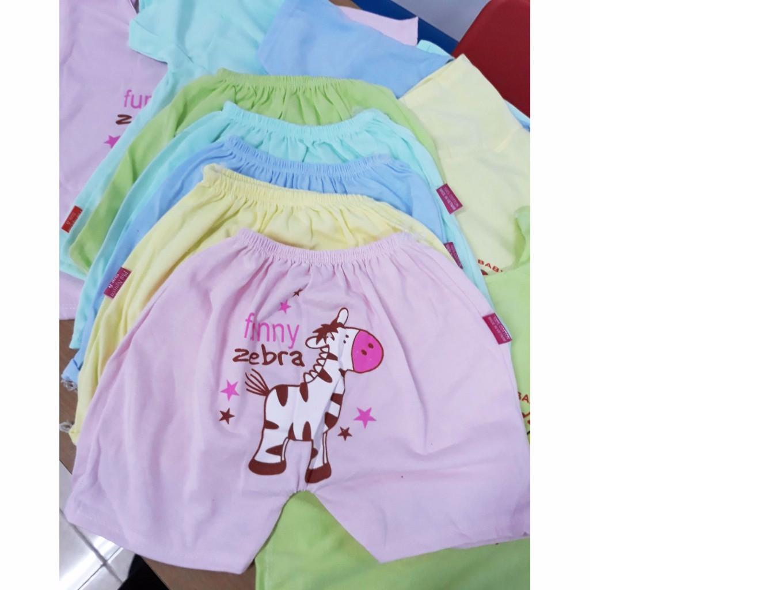 Hình ảnh Set 5 Bộ cotton nhiều màu cute cho bé yêu1- BK3 + Tặng kèm thẻ tích điểm