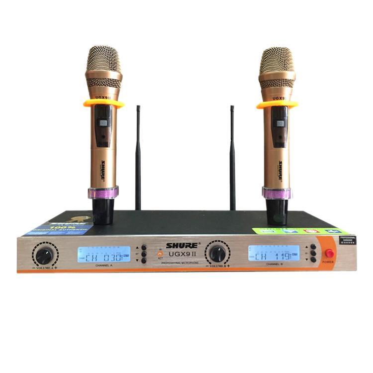 Micro Karaoke Không Dây SHURE UG-X9 II