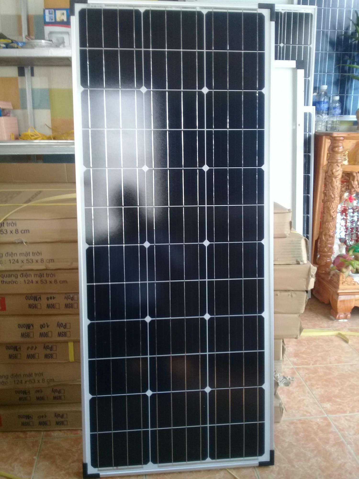 Cửa Hàng Tấm Pin Năng Lượng Mặt Trời 100W Mono Red Sun Energy Jsc Red Sun Trong Bình Dương