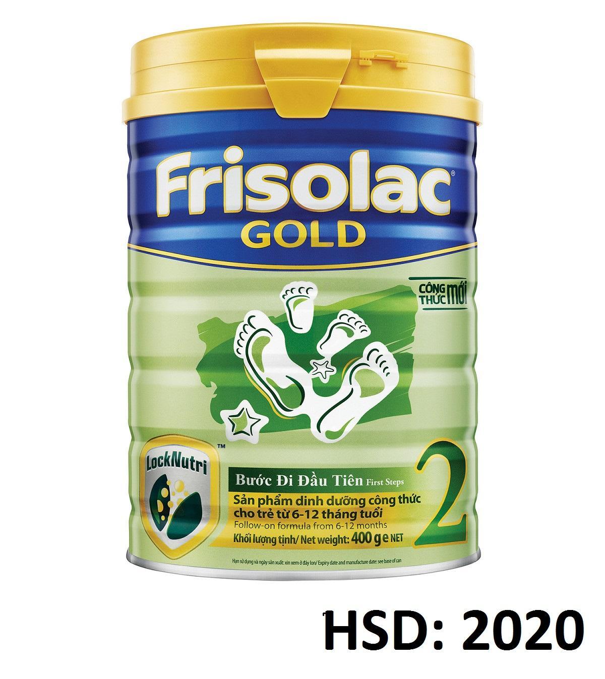 Mua Sữa Bột Frisolac Gold 2 400G Trong Quảng Ninh