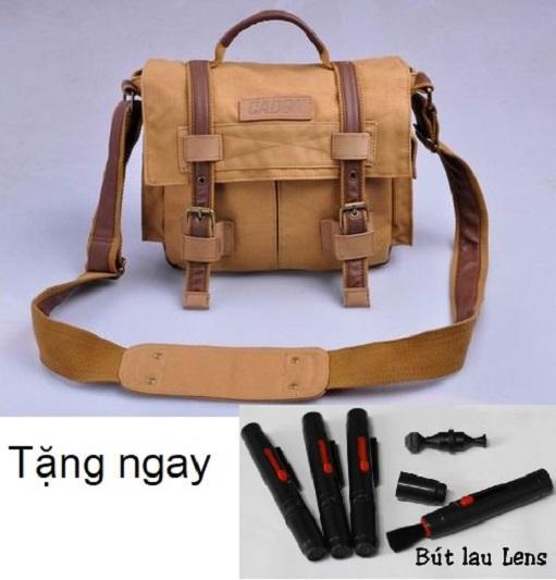 Hình ảnh Túi đeo chống sốc máy ảnh DSLR Caden F3🎁Tặng bút lau lens