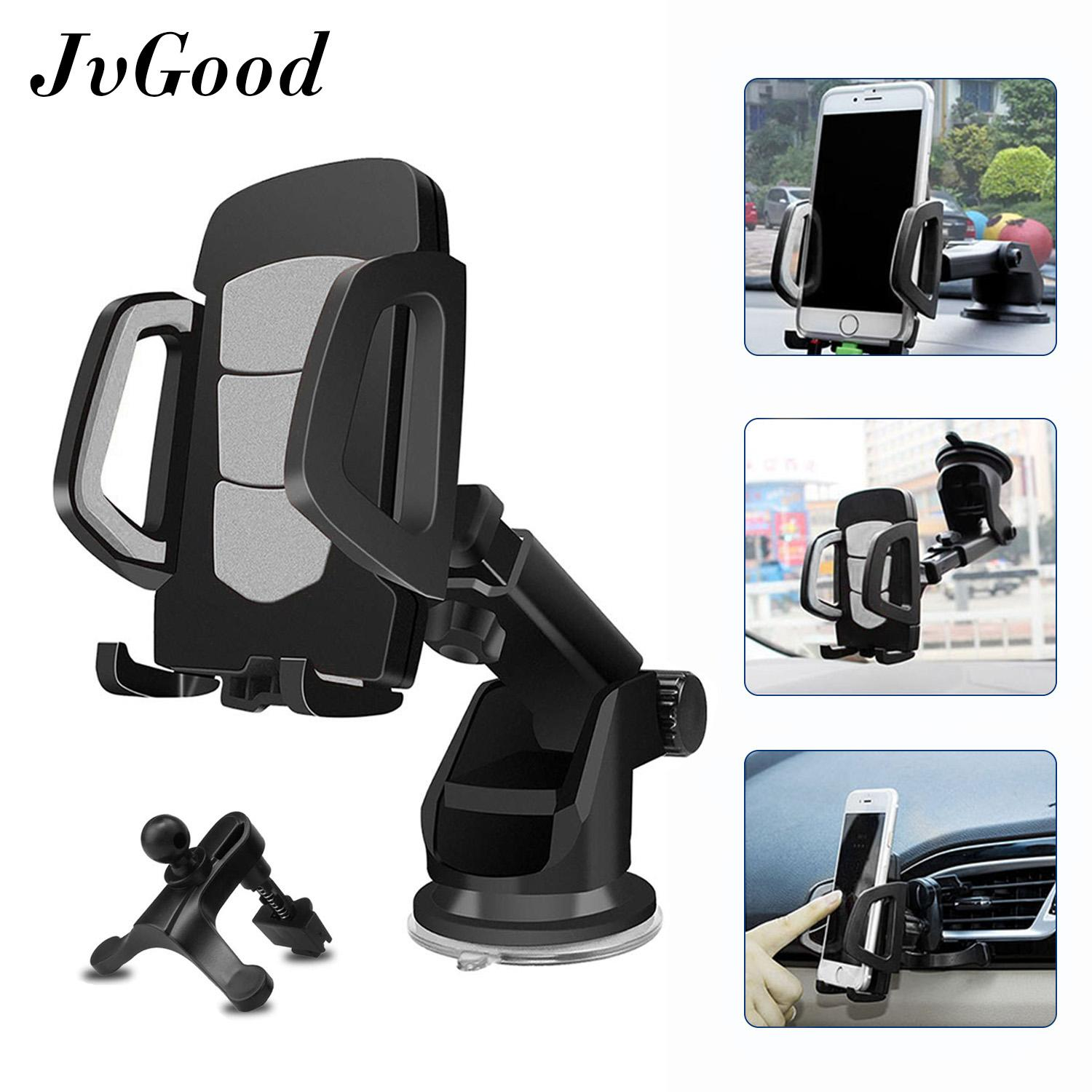 Buy Car Mounts Mobile Accessories Phone Holder Automotive Outlet Sucker Jvgood Mount Holder3 In 1 Universal Smartphones Air Vent Gps Dashboard
