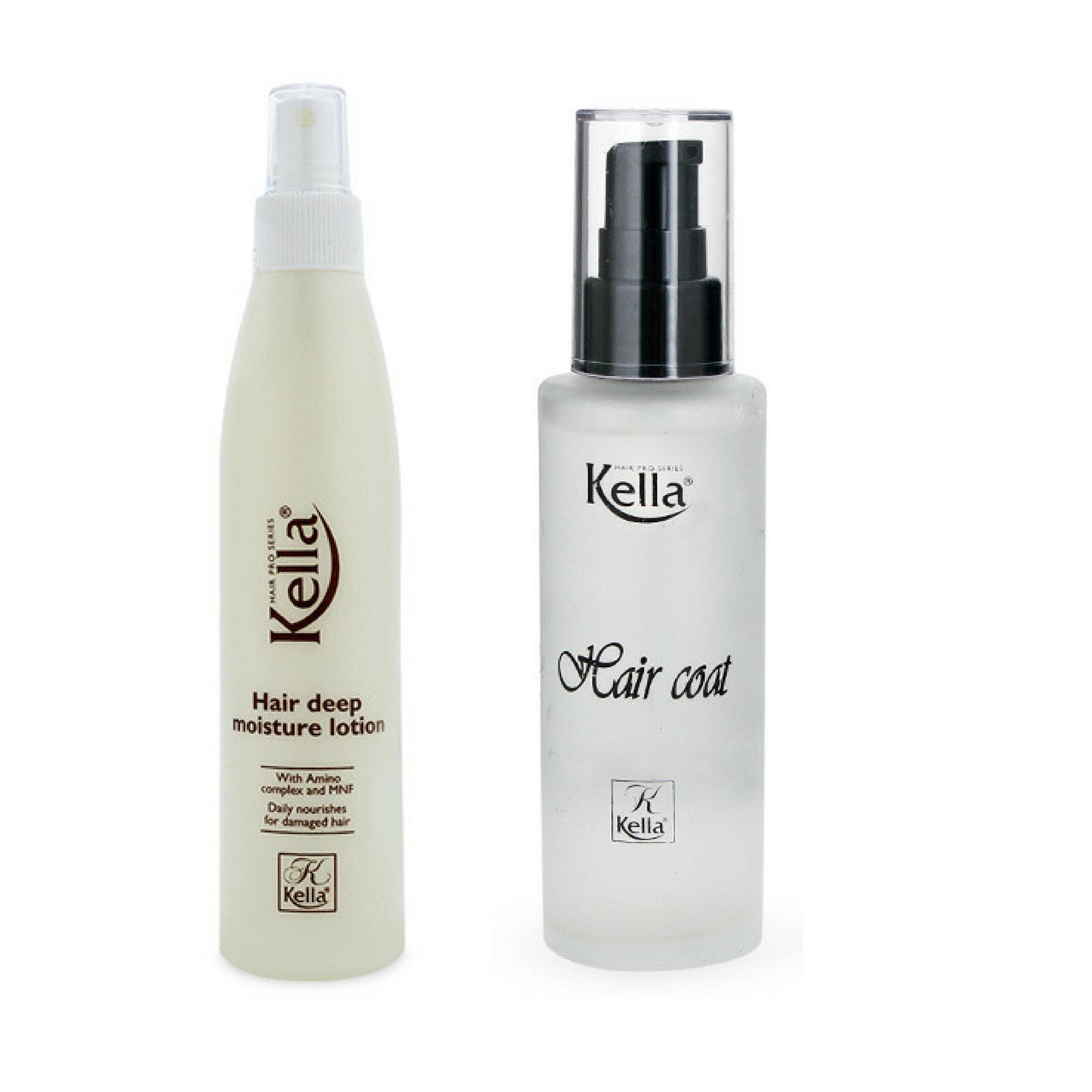 Combo xịt dưỡng và dầu làm bóng, mềm tóc giá rẻ