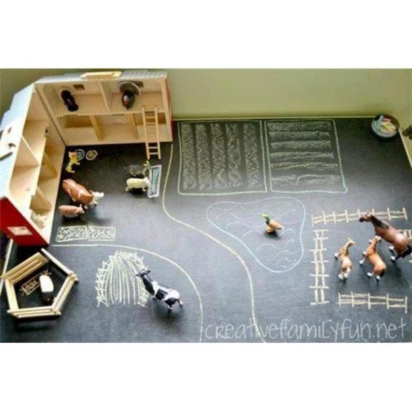 Hình ảnh Decal dán tường vẽ cho bé (đen) - Kmart