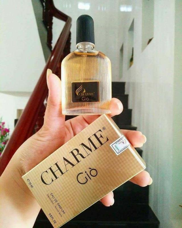 Giò Charme (25ml) Nước Hoa Nam Charme Giò [CHÍNH HÃNG 100%] - Nuoc Hoa Gio