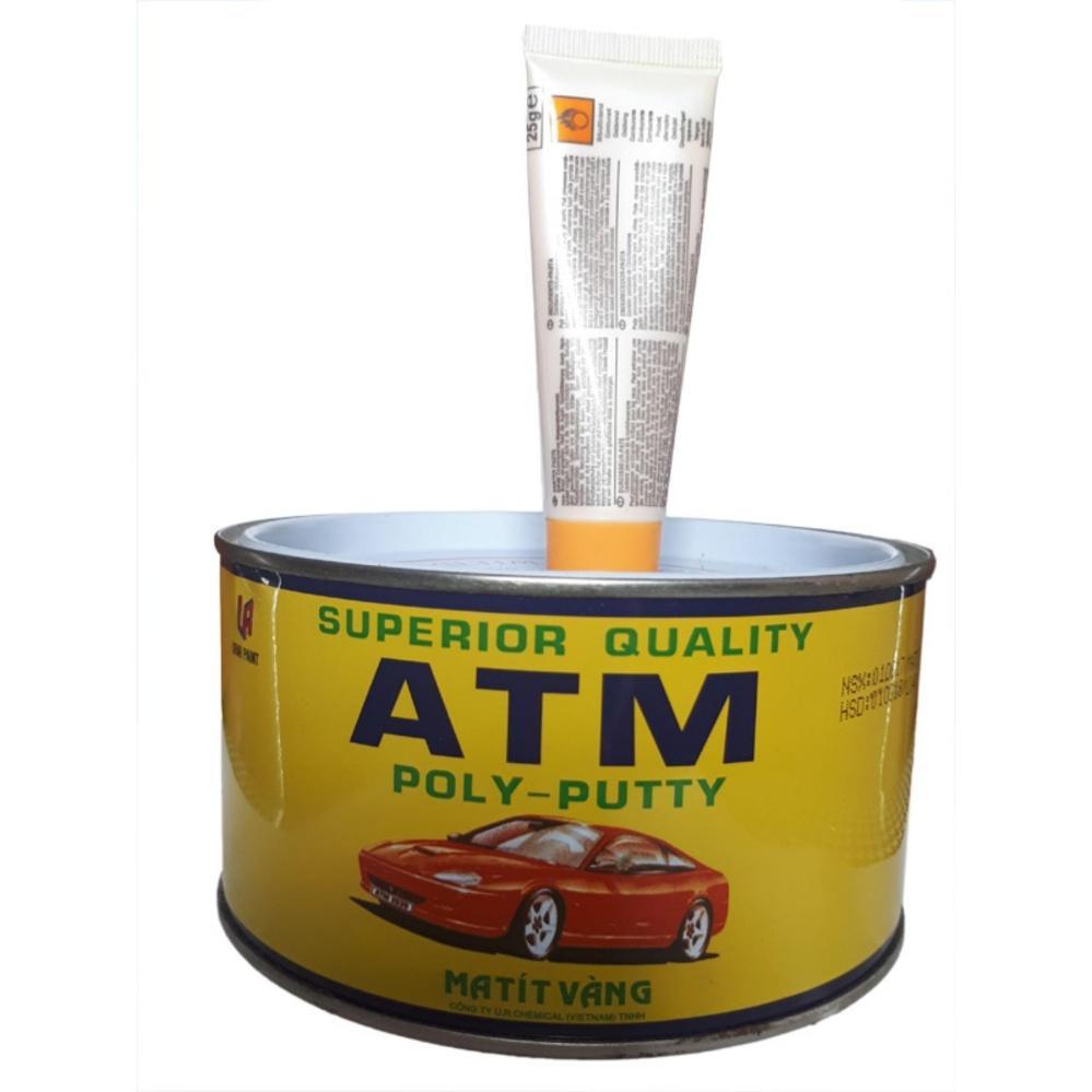 Bột trét đa năng Matit vàng ATM cao cấp - Huy Tưởng