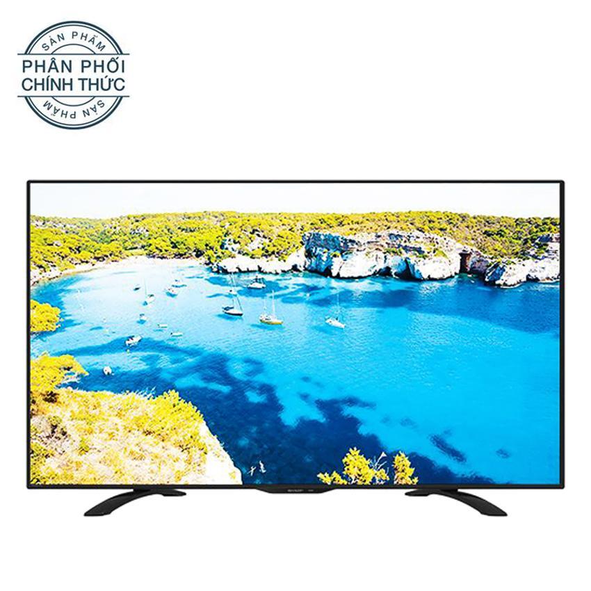 Hình ảnh Tivi Led Sharp 50inch Full HD - Model LC-50LE275X (Đen)
