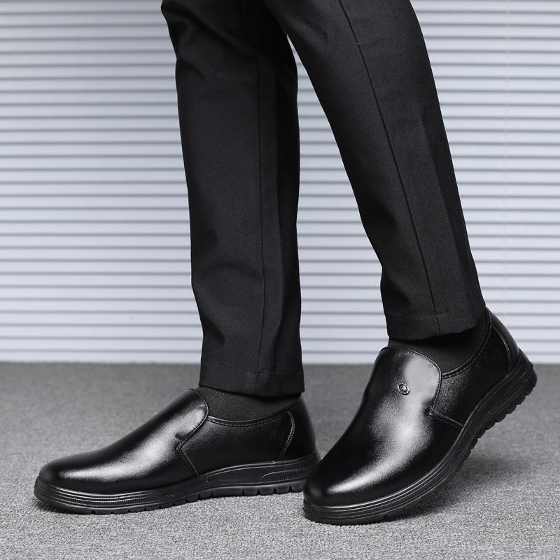 Yuzi Pria Sepatu Formal Flat Oxford Sepatu Untuk Pria Oxford Menunjuk Sepatu Kaki Lace Up Kulit