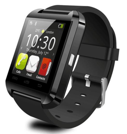 Hình ảnh Đồng Hồ Thông Minh Smart Watch U8 (đen)