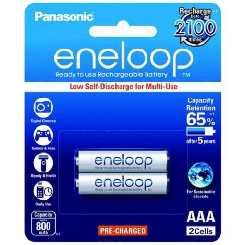 Pin sạc AAA Eneloop 800mah, Pin sạc AAA Panasonic (vỉ 2 viên)