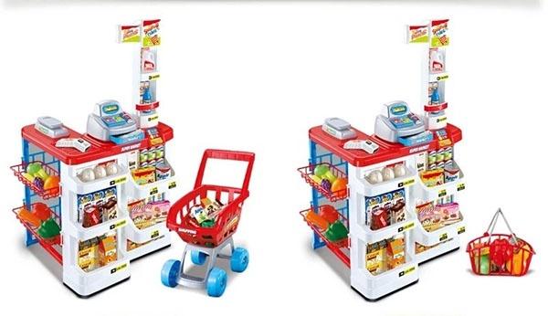 Bộ thu ngân xe đẩy siêu thị 3
