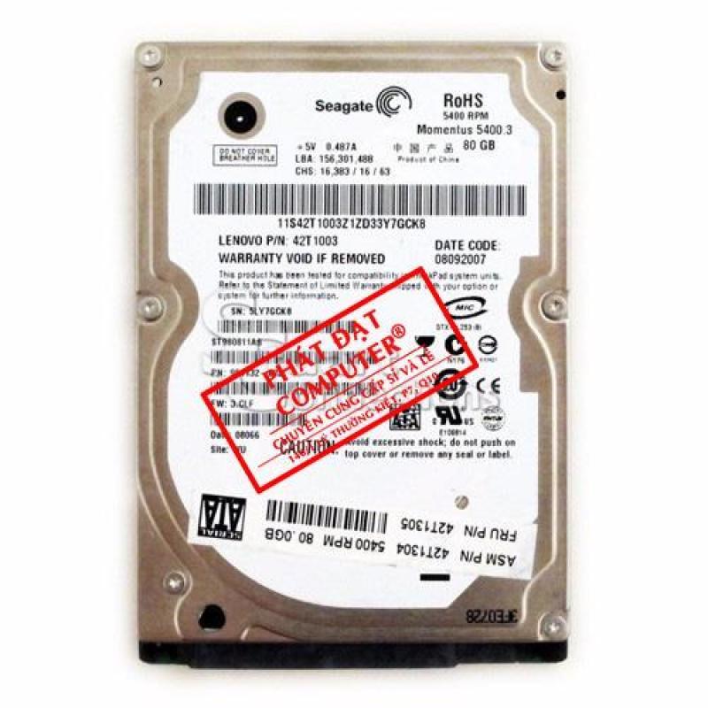 HDD Laptop Seagate 80GB Sata