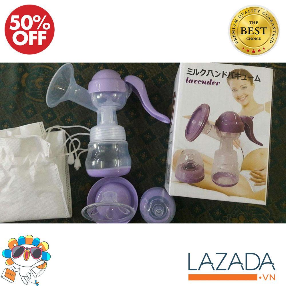 Hình ảnh Cho con bu nen uong sua gi, Bình hút sữa bằng tay Lavender, không BPA tuyệt đối AN TOÀN CHO BÉ, Đang giảm 50%, Bảo hành 1 đổi 1
