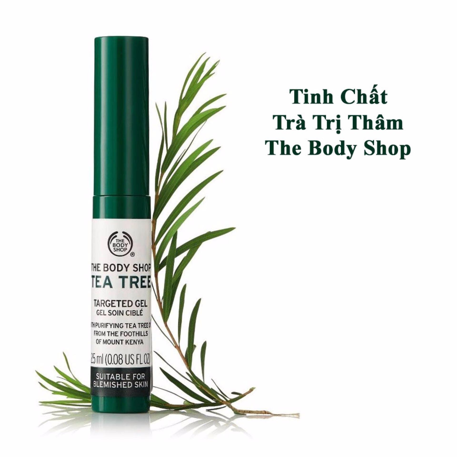 Hình ảnh Gel Trị Mụn Và Thâm Hiệu Quả The Body Shop Tea Tree Targeted Gel 25ml