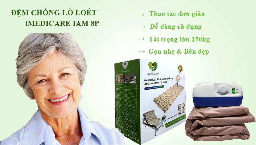 Đệm chống loét cho người già iMediCare IAM - 8P Singapore