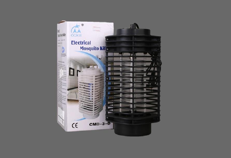 Đèn Bắt Muỗi Côn Trùng hình tháp 3D TOWER (Đen) GT814