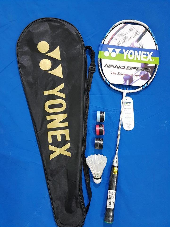 Hình ảnh vợt cầu lông YONEX ( tập luyện ) tặng quấn cán chống trơn + 1 lần đan cước