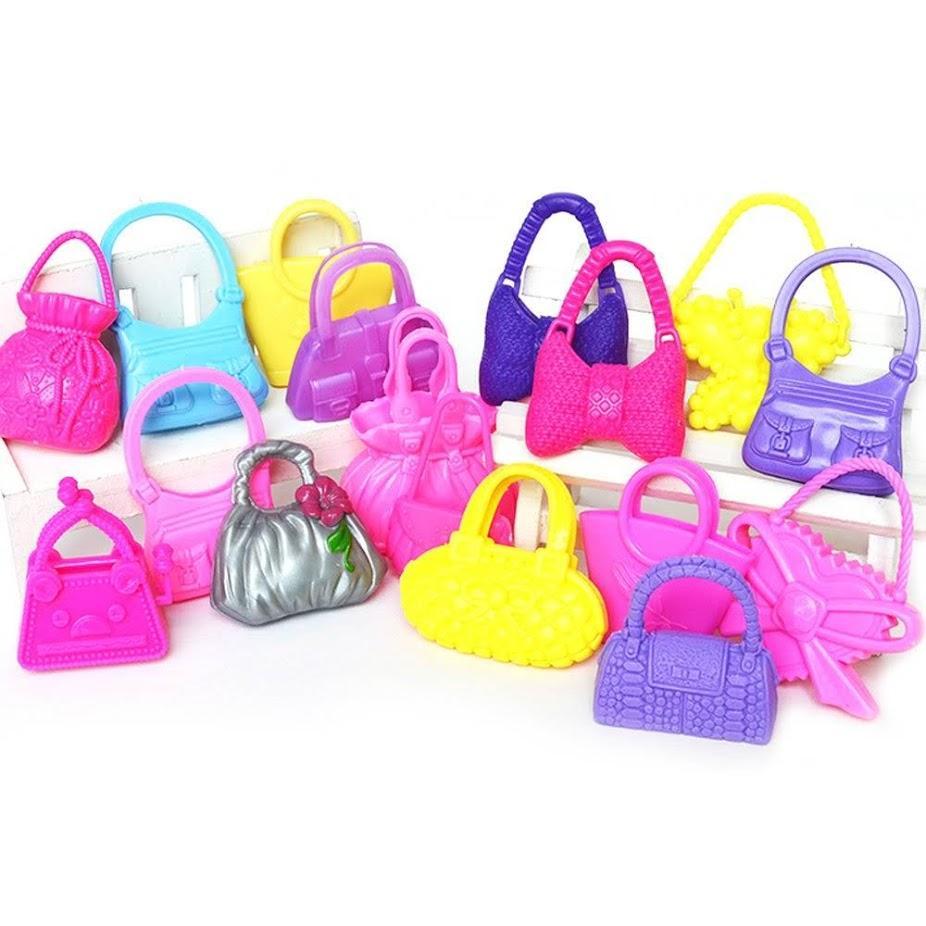 Hình ảnh Bộ 5 túi xách cho búp bê