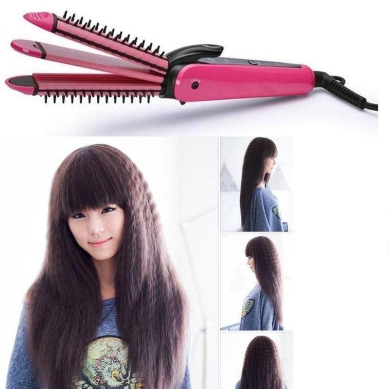 Máy tạo kiểu tóc đa năng 3 trong 1 Nova NHC-8890 (hồng) giá rẻ