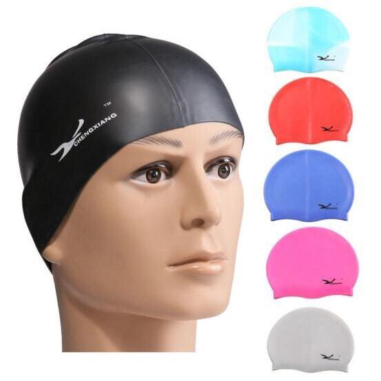 Hình ảnh Mũ Bơi Silicon Cao Cấp