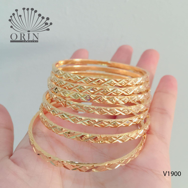 Hình ảnh Vòng ximen cao cấp bộ 7 chiếc trang sức Orin K14 N3