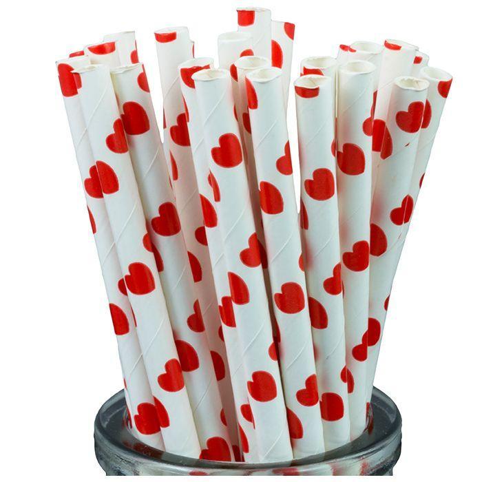 Hình ảnh 25 Ống hút giấy dùng trong tiệc