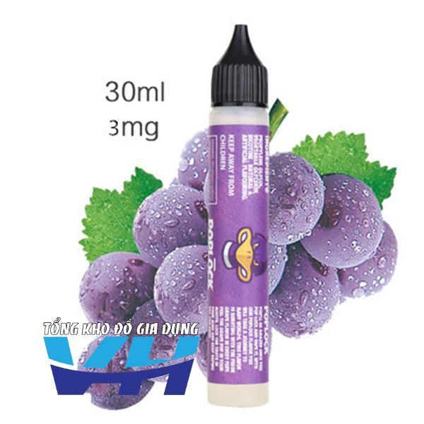 Tinh dầu Nhập khẩu Malayxia dùng cho Vape nhiều vị (30ml - 3mg Nic)