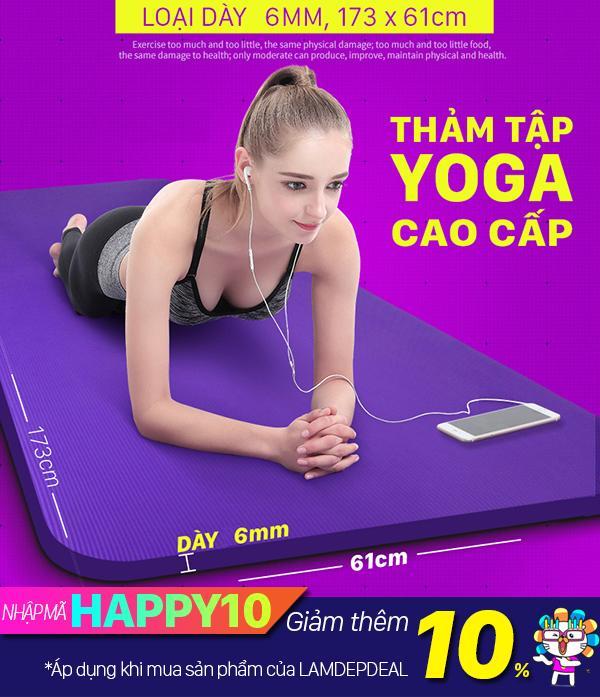 Cửa Hàng Thảm Tập Yoga Đa Năng Cao Cấp Tặng Kem Tui Best Accessories Trong Hồ Chí Minh