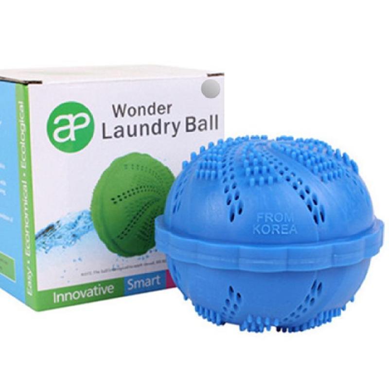 Bóng giặt tinh than tre công nghệ nano (Màu xanh da trời) - sản xuất tại Hồng Kông