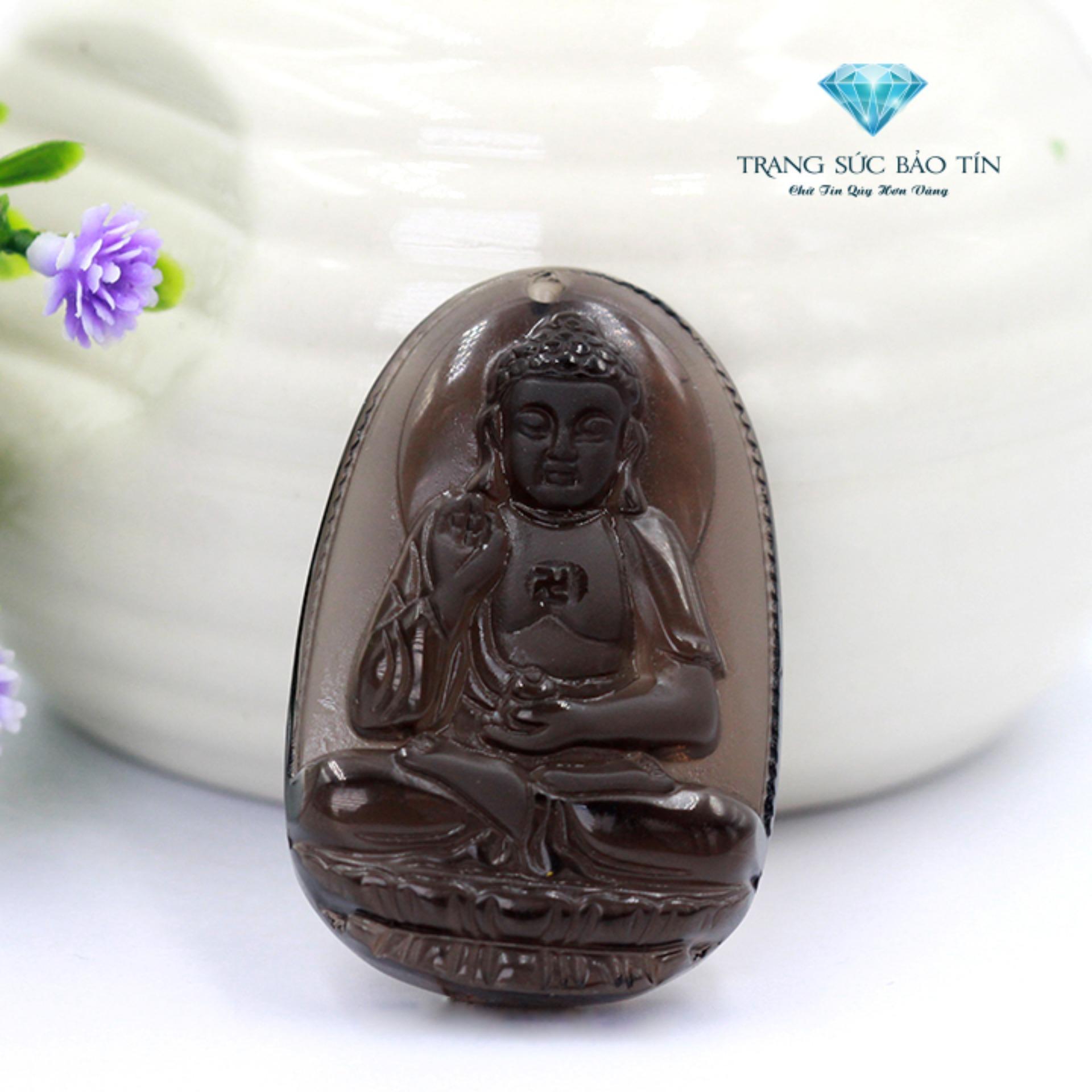 Bán Mặt Day Chuyền Phật Bản Phật A Di Đa Thạch Anh Khoi Phong Thủy Bảo Tin Nhập Khẩu
