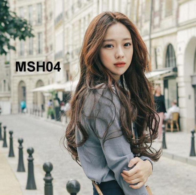 Bộ Tóc Dài Xoăn Nhẹ MHS04 nhập khẩu