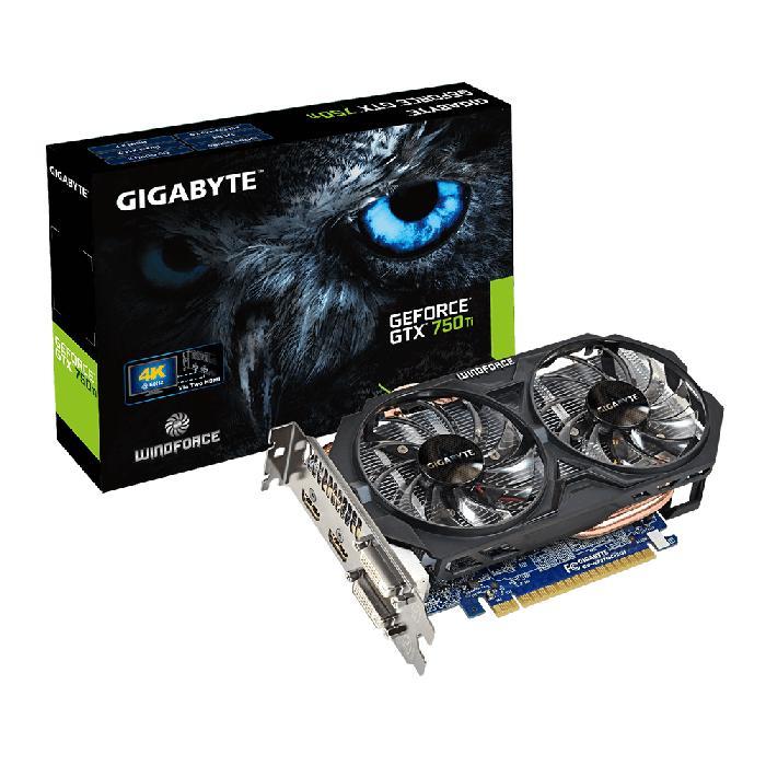 Gigabyte GTX 750Ti 2GB - GV-N75TOC2-2GI