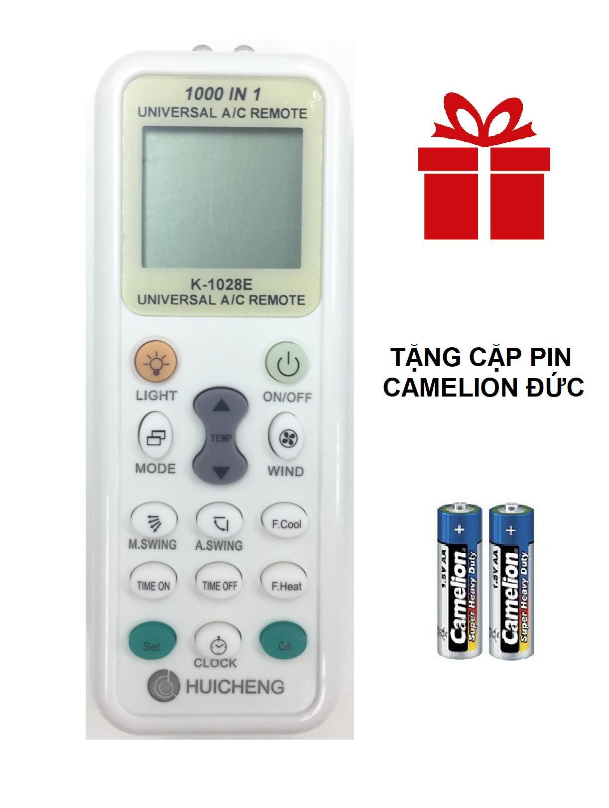 Hình ảnh REMOTE MÁY LẠNH ĐA NĂNG HUICHENG K-1028E TÍCH HỢP MÃ 1000 SẢN PHẨM
