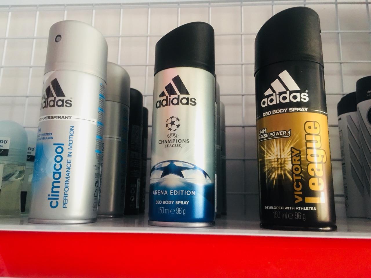 Hình ảnh Xịt khử mùi Adidas 150ml nam