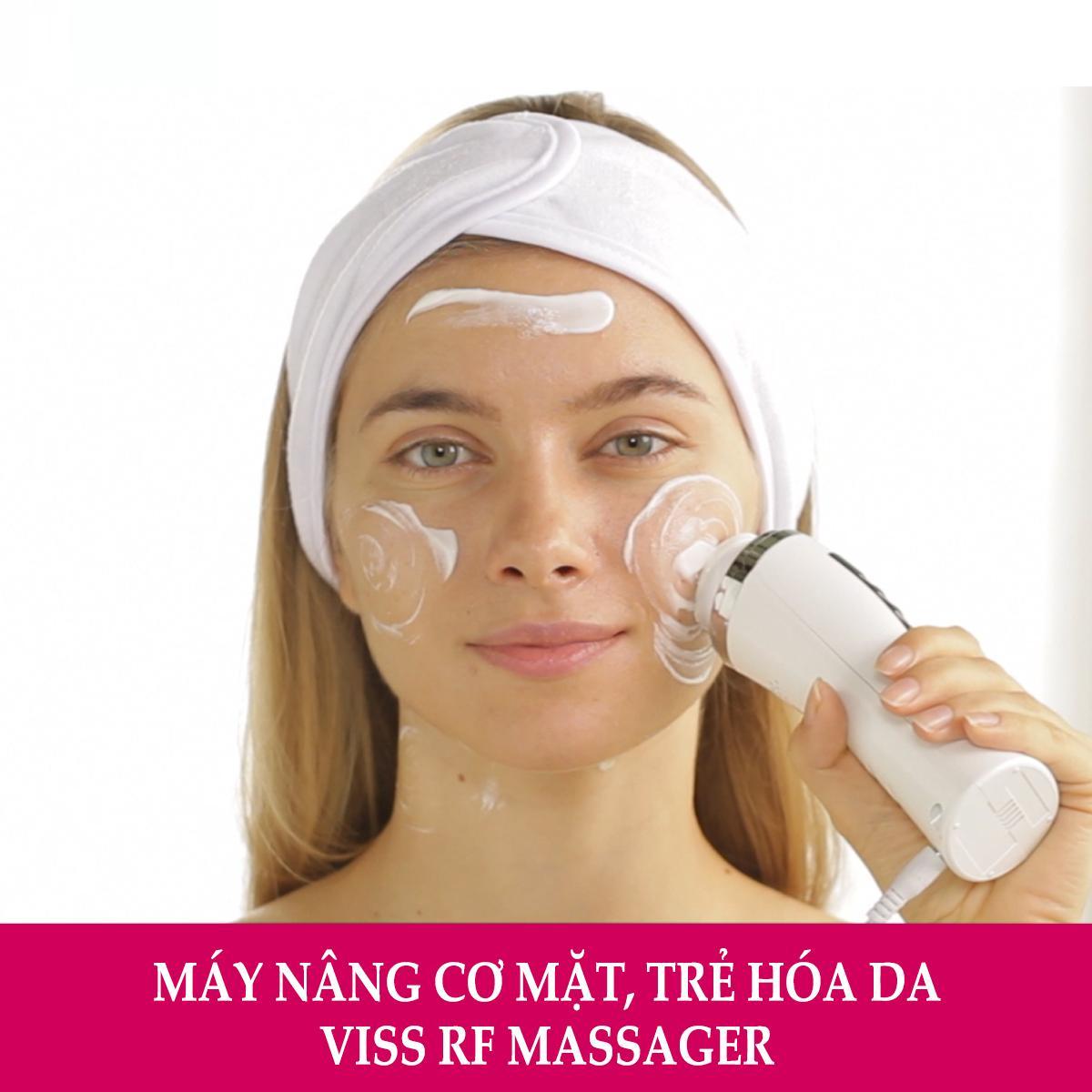 Ôn Tập May Massage Căng Da Mặt Viss Rf Viss Beauty Trong Hà Nội