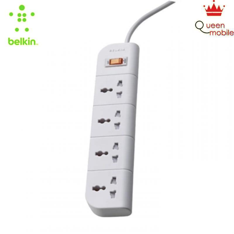 Ổ cắm điện bền đẹp, an toàn Belkin 4 lỗ 3M (CEW $1,000) – F9E400th3M [BELKIN], Giá tốt: 473.000 ₫