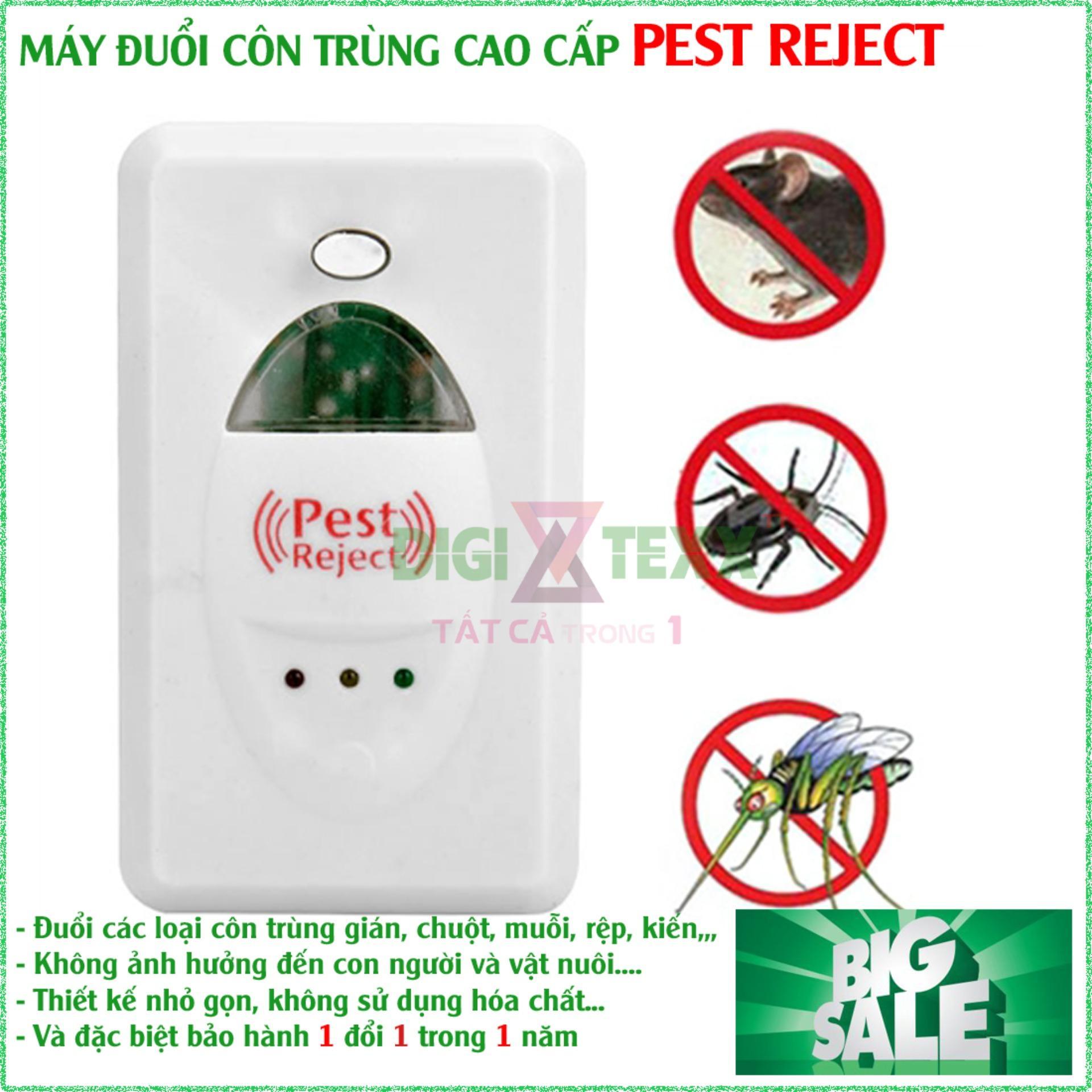 Thiết Bị Chống Chuột, , Máy Xua Đuổi Côn Trùng Pest Reject Giúp Xua Đuổi Triệt Để Các Loại Côn Trùng Bằng Sóng Siêu Âm, An Toàn Cho Sức Khỏe - Thiết Thực Cho Gia Đình Bạn