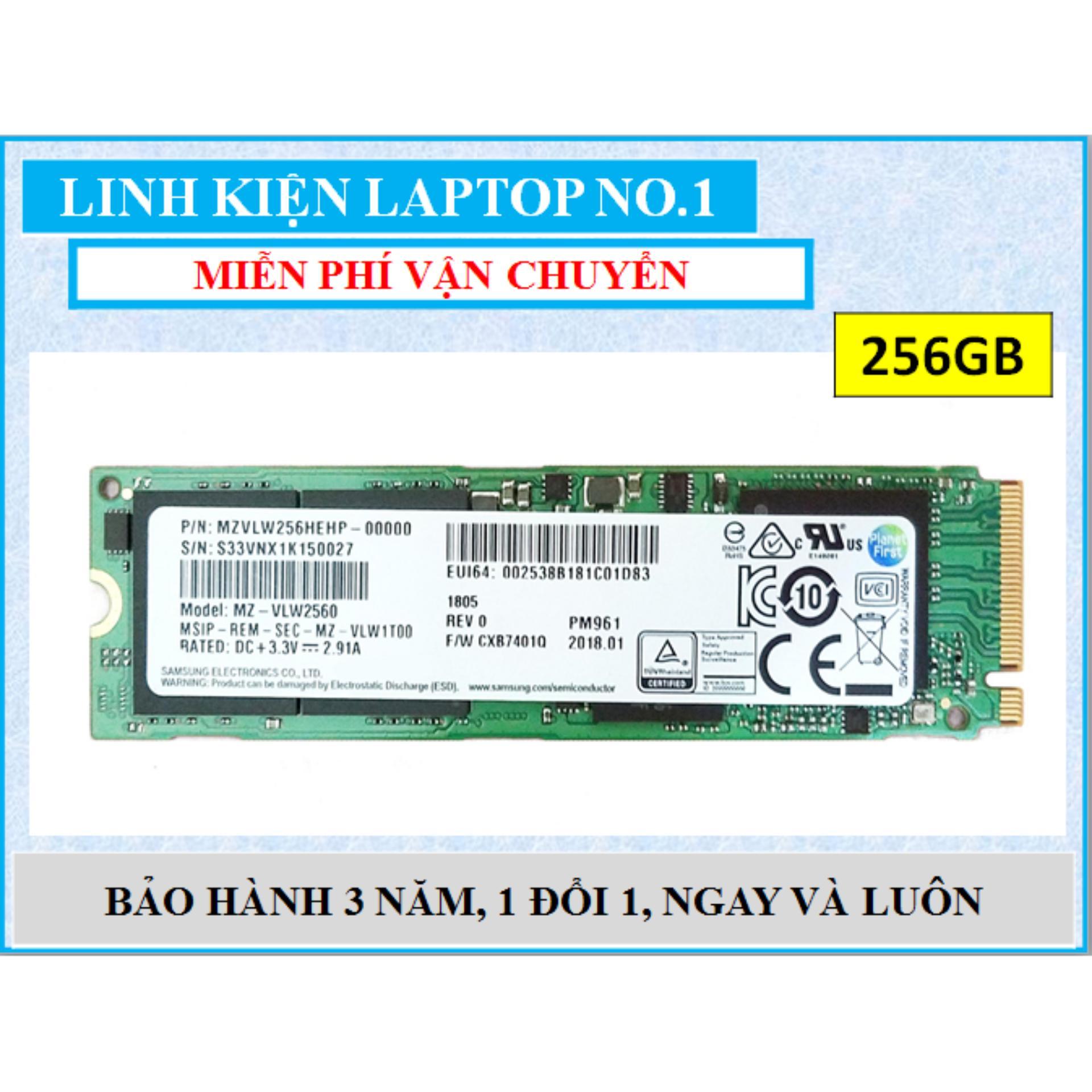 Hình ảnh Ổ cứng SSD M2 PCIe Samsung PM961 NVMe 2280 256GB