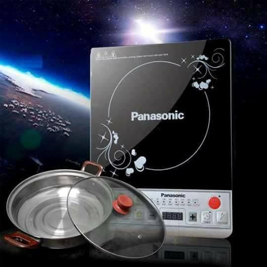 Hình ảnh Bếp Từ Panasonic kèm nồi