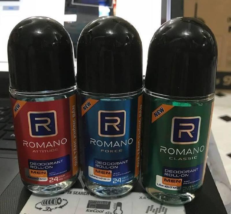 Lăn khử mùi ROMANO chai lớn 40ml tốt nhất