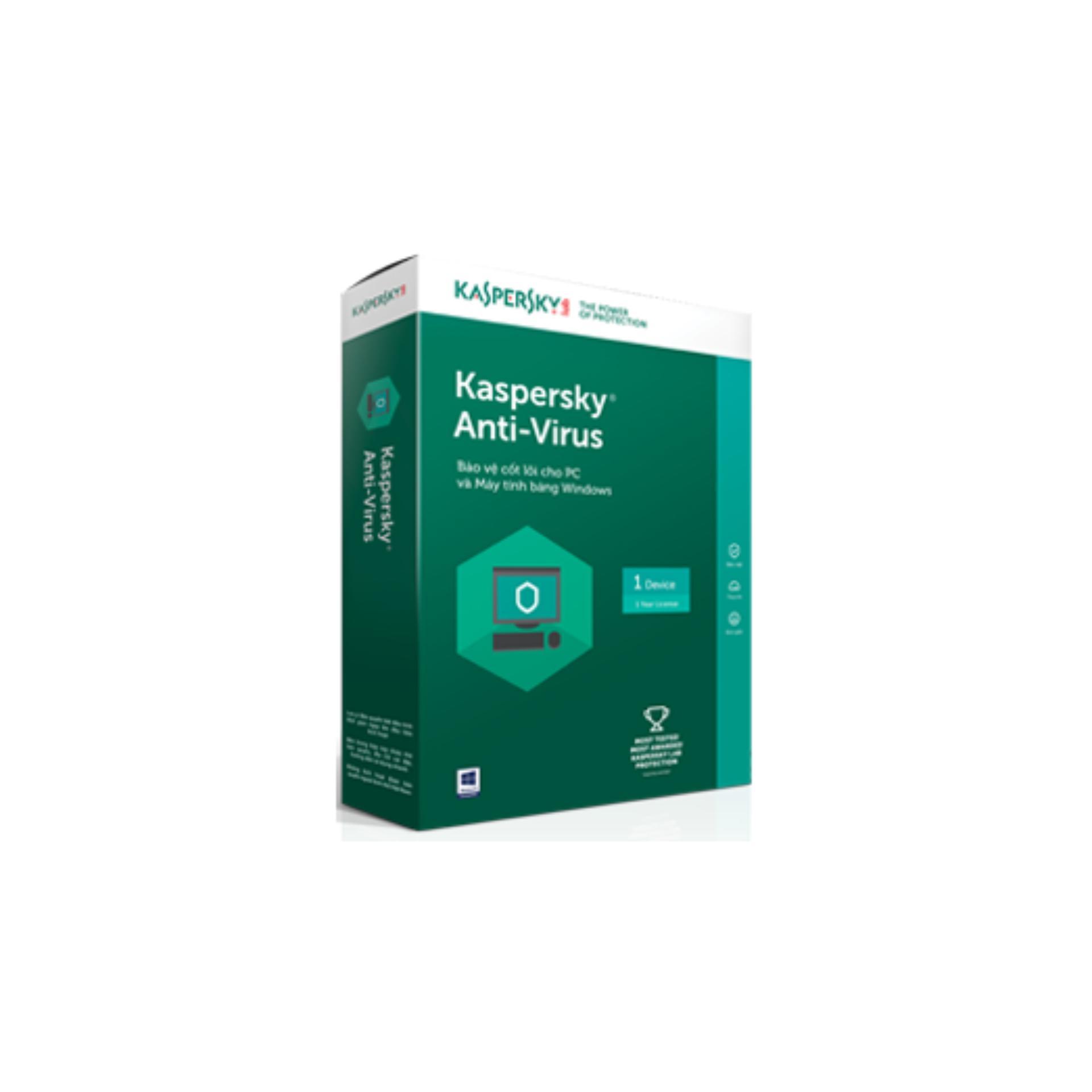 Hình ảnh Phần mềm diệt virus Kaspersky Anti-Virus 1PC