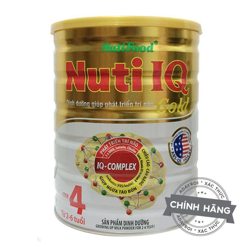 Mua Sữa Nuti Iq Gold Step 4 900G Nutifood